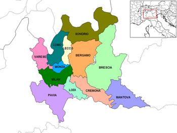 Lombardy Provinces