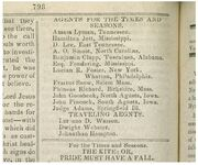 Times Seasons 1842 Agents