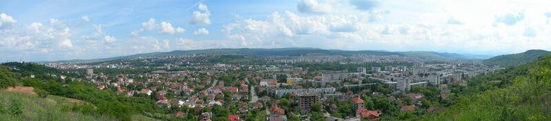 Cluj-Napoca panorama