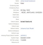 Naslund-Johan 1822 birth