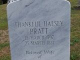 Thankful Halsey (1797-1837)