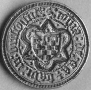 Zegelstempel Jan van der Aa van 1450