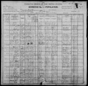 Census of Florence Township Benton County Iowa 1900 pg03