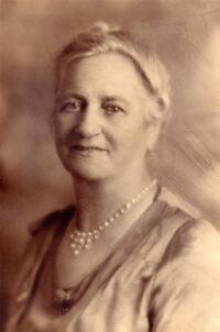 Lena Elaine Olson (1860-1938) circa 1920