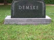 Petra and Otto Demske Headstone