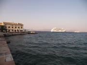 Ships in Corfu