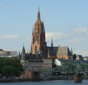 Frankfurter Dom Eiserner Steg
