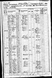 1860 census Lindauer Weber