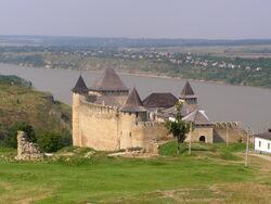 Chotyn, pevnost, jádro