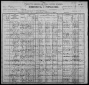 Census of Florence Township Benton County Iowa 1900 pg05
