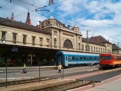 Hungary pecs - allomas1