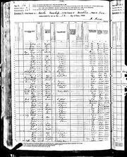 Census of Census of Osceola Township Franklin County Iowa 1880 pg14