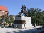 Boleslaw Chrobry we Wroclawiu