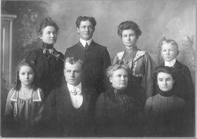 Hale family portrait