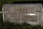 Shade william-bertha tombstone