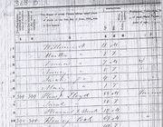 Lloyd, Pleasant - 1850 Census, Cocke County, TN page 368 B