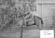 Nat on Horse
