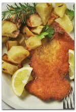 Cotoletta e patate al forno