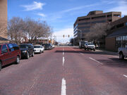Amarillo Tx - Brick Streets