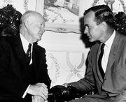 George Herbert Walker Bush and Eisenhower 1