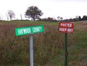 Haywood county scenic