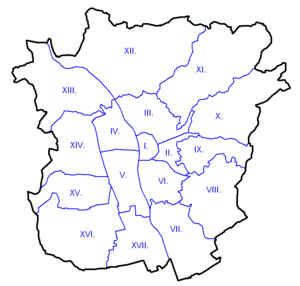 Graz Stadtbezirke weiß