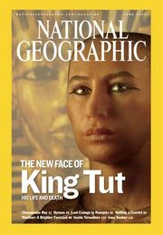 National Geographic - King Tut face