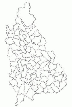 Harta de localizare jud Dambovita
