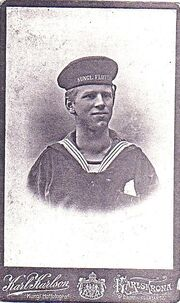 Nanny´s twin brother Ivar, drowned in the USA 1918.