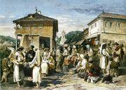 Preziosi - Piaţă la Râmnicu Vâlcea