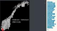 Ole Mattias Pedersen (1822-1914) of Klungeland DNA descendants