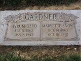 Maryette Snow (1863-1942)