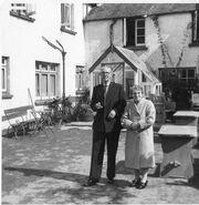 Jack emily at new inn 1958