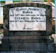 Elijah Reuben Marks and Elizabeth Christie