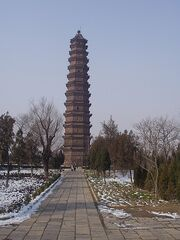 Iron Pagoda of Kaifeng 6