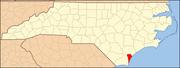 North Carolina Map Highlighting New Hanover County.PNG