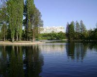 Lacul din Parcul Titan