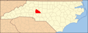 North Carolina Map Highlighting Rowan County.PNG