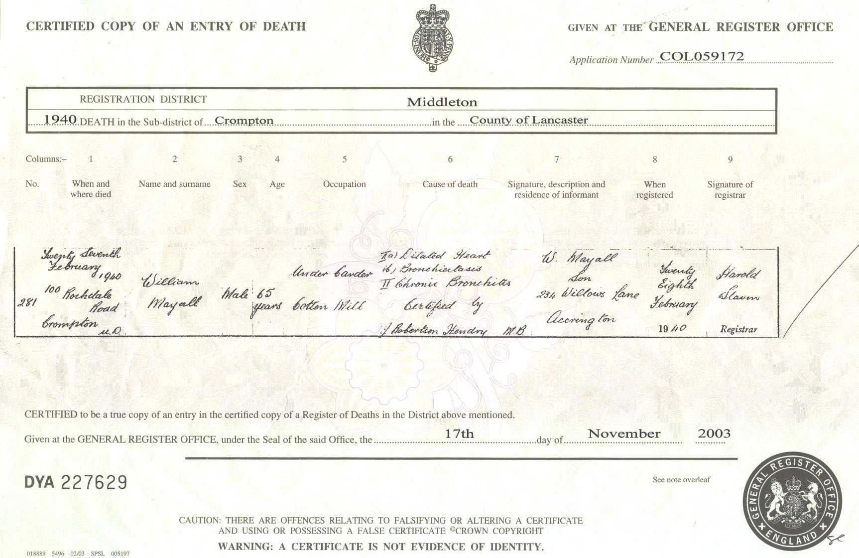 Do You Get A Death Certificate For A Stillborn Best Design