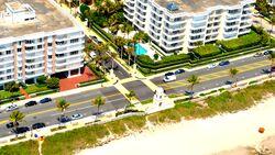 WORTH AVENUE PALM BEACH FLORIDA AERIAL 2011