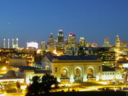 Kansas-City-Missouri-Downtown at Twighlight