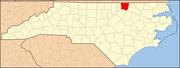 North Carolina Map Highlighting Warren County.PNG