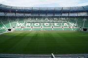 Stadion Wroclaw - trybuna wschodnia
