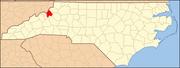 North Carolina Map Highlighting Avery County.PNG