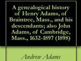 Adams political family