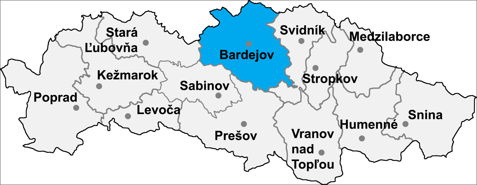 Bildergebnis für bardejov bartfeld landkarte