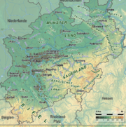 North Rhine-Westphalia Topography 08