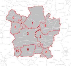 PM mapa