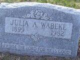 Julia Amanda Wabeke (1899-1982)