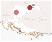 Fenrich surname in Croatia